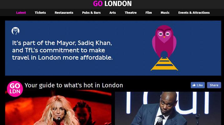 Evening Standard launches Go London