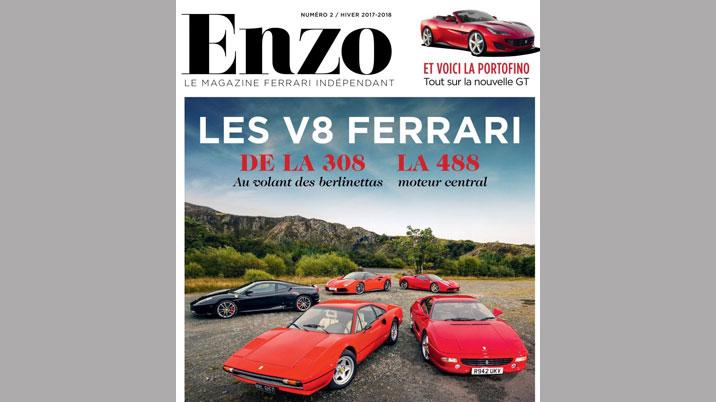 Enzo magazine launches in France