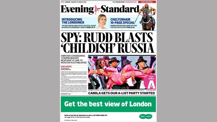 New look for Evening Standard