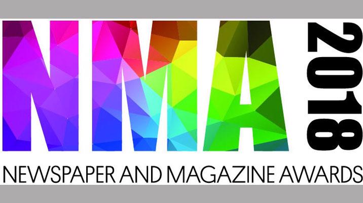 Newspaper & Magazine Awards – shortlist announced