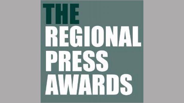 Regional Press Awards – shortlists announced