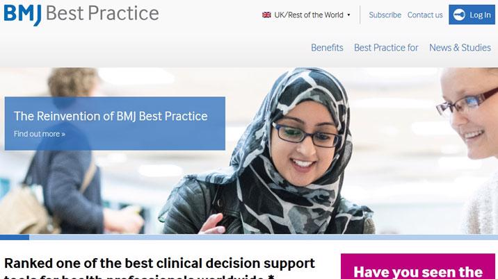 BMJ Best Practice partners with NHS