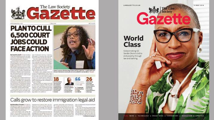 New look for Law Society Gazette