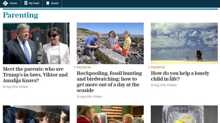 The Telegraph launches Telegraph Family