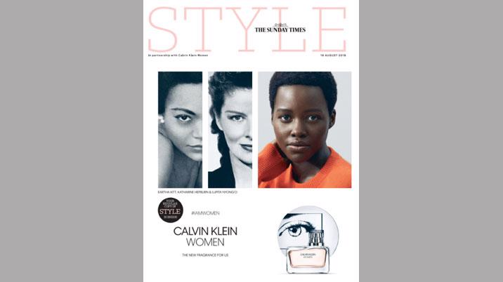 The Sunday Times Style publishes first ever cover wrap