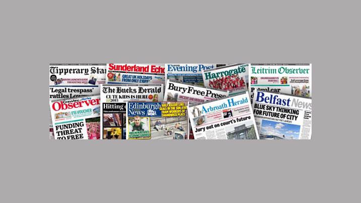 Johnston Press publishes interim results