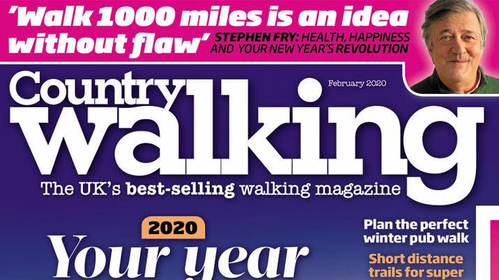 Country Walking launches #Walk1000miles 2020 challenge