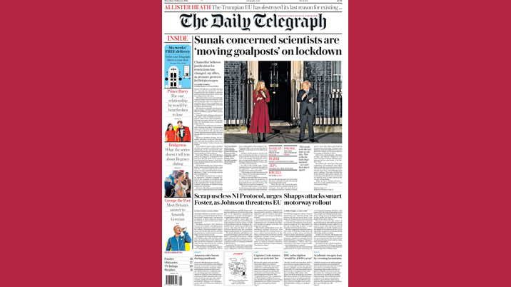 Telegraph increases Saturday cover price but defers improved margin