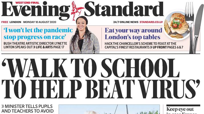 Evening Standard to cut staff following Covid impact