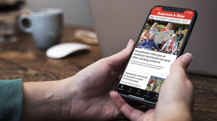 The Express & Star launches a new interactive app