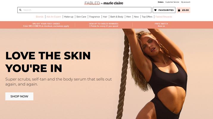 Next acquires Fabled by Marie Claire