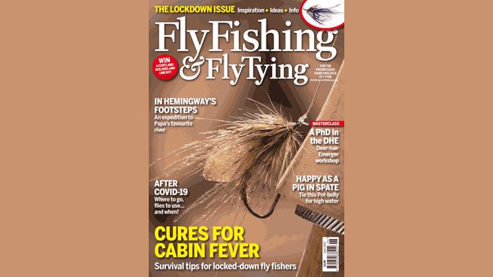 Fly Fishing and Fly Tying magazine to help health workers unwind