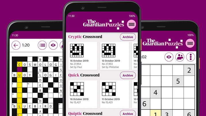 The Guardian launches Puzzles app