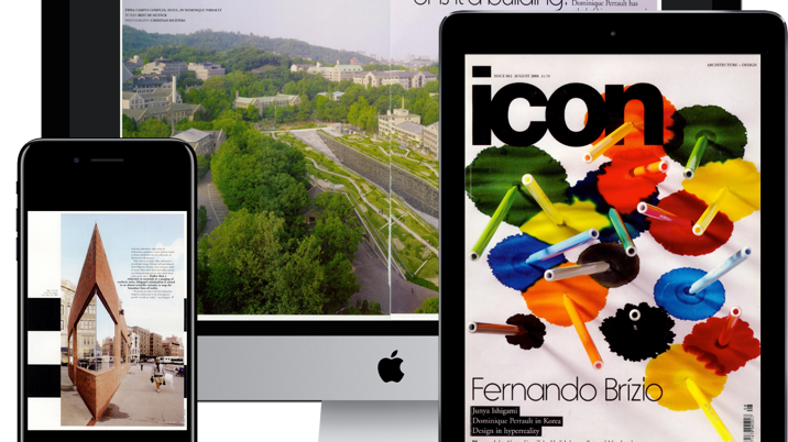 Architecture & Design Magazine Icon Completes 16-Year Digital Archive