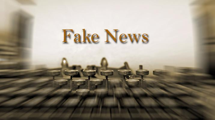 When should fake news make it into the real news?