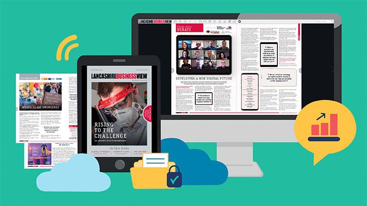 Lancashire Business View chooses YUDU for its digital edition