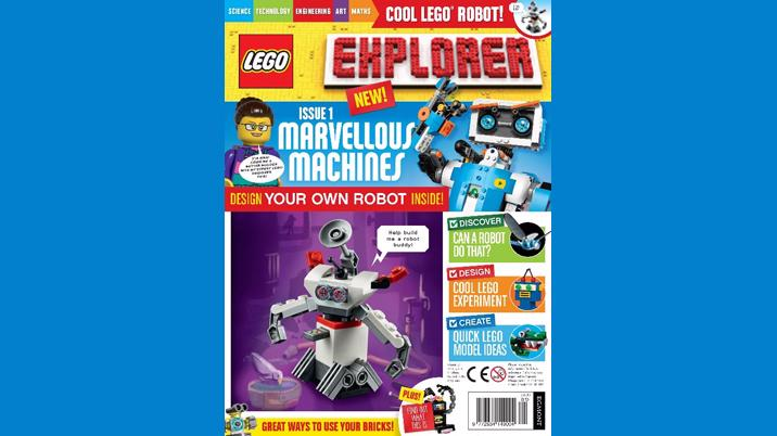 Egmont launches LEGO Explorer