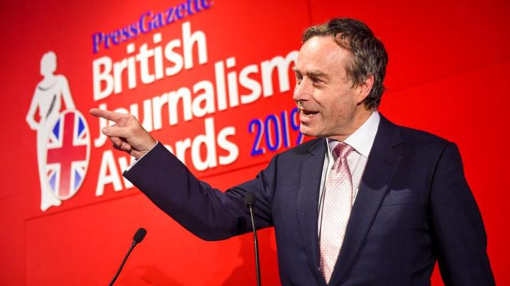 British Journalism Awards – winners announced