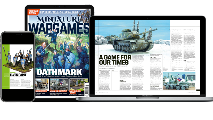 Miniature Wargames Magazine goes digital with new archive