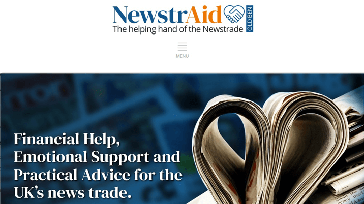 Industry charity NewstrAid launches new website
