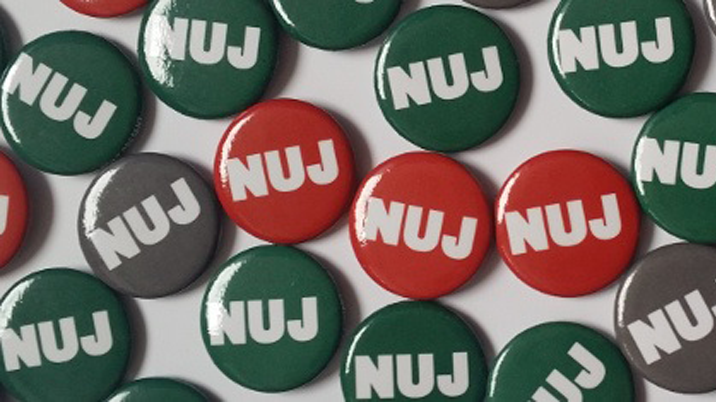 NUJ condemns Paisley attack on political editor