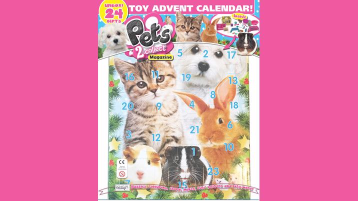 Signature creates Pets2Collect Toy Advent Calendar