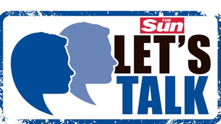 The Sun launches 'Let's Talk' suicide campaign
