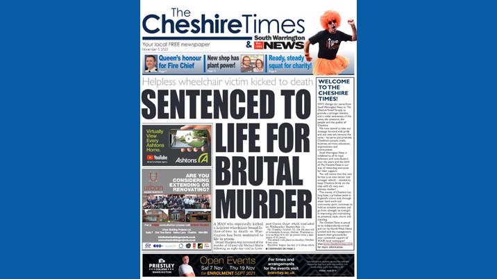 South Warrington News rebrands as The Cheshire Times