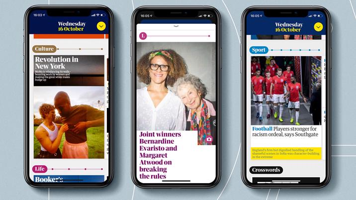 Guardian releases newly designed Daily app