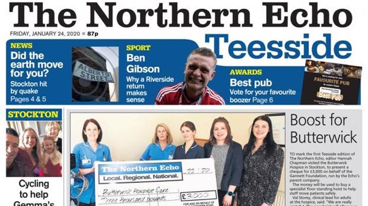 The Northern Echo launches Teesside Edition