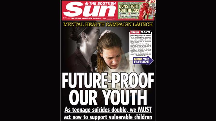 The Scottish Sun launches childhood mental health campaign