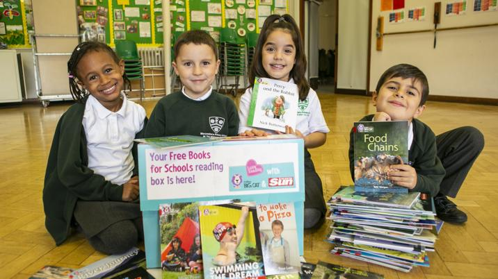 The Sun launches new Books for Schools campaign
