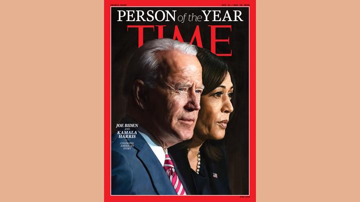 2020 TIME Person of the Year: Joe Biden & Kamala Harris