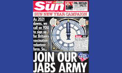 "The Sun launches ""Jabs Army"" vaccine campaign"
